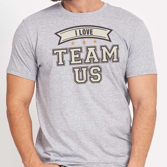 Team Us, Matching Dad/Mom/Daughter Family Tees
