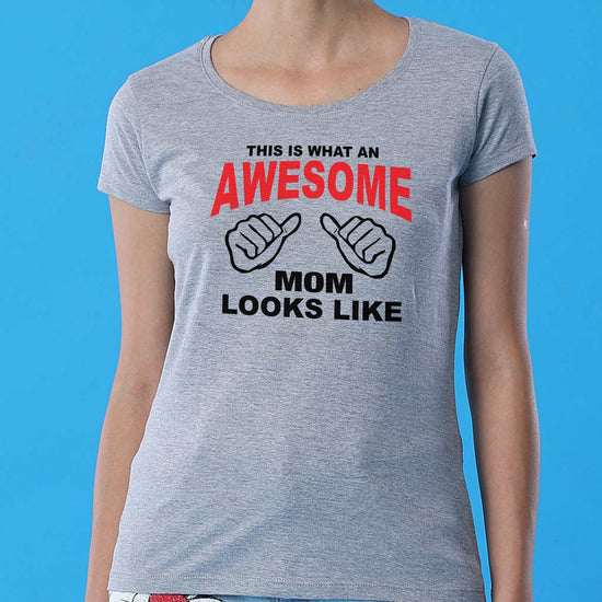 Awesome, Tees For Son, Daughter And Mom.