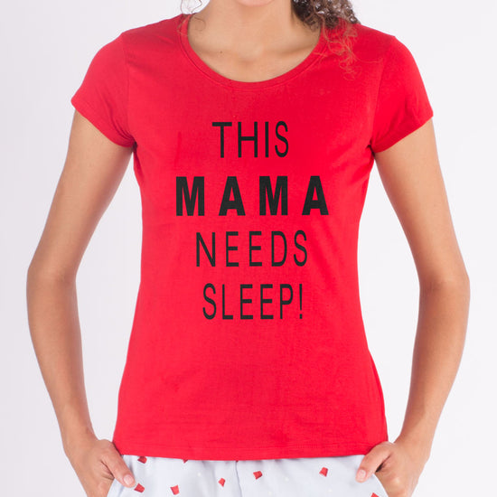 Mama Needs Sleep, Matching Sleepwear For Mother And Daughter