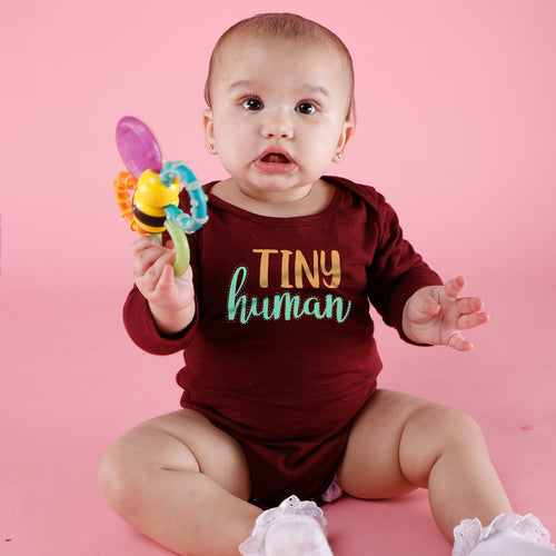 Tiny Human Tamer, Matching Tee And Bodysuit For Mom And Baby (Boy)