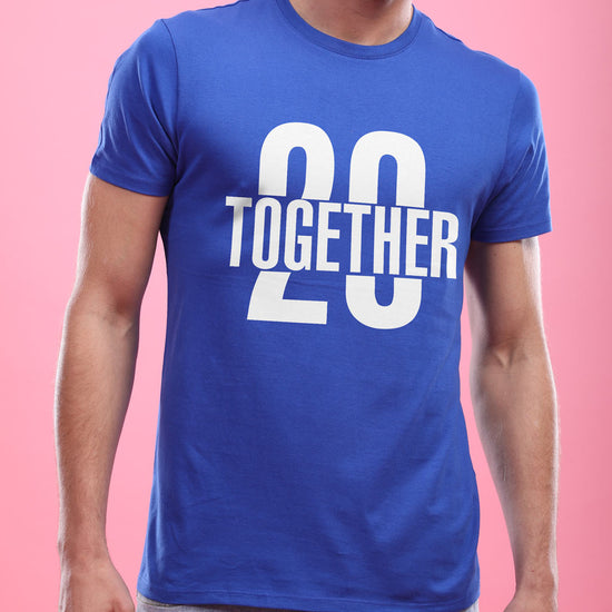 Together Since, Personalized Couple Tees