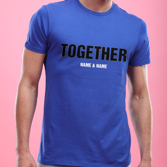Forever, Personalized Couple Tees