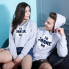 Tu Jaane Na, Matching Hoodie For Men And Crop Hoodie For Women