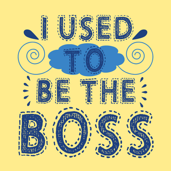 I used to be the Boss/ I am Boss Tees