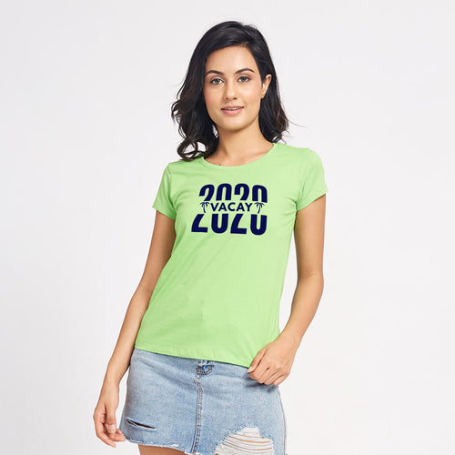 Vacay 2020, Matching Family Travel Tees For Women