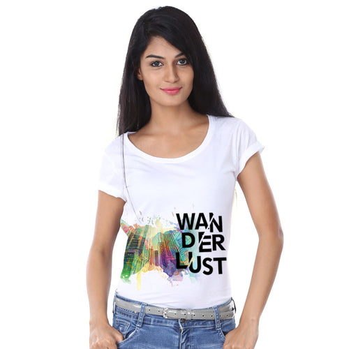 Wanderlust Family Tees for mother
