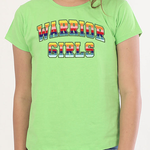 Warrior Girls, Matching Tees For Sisters
