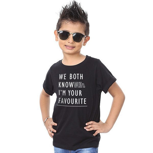 We Both Know Quote Tees