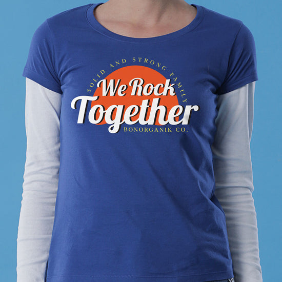 We Rock Together,  Tees For Son, Daughter And Mom.