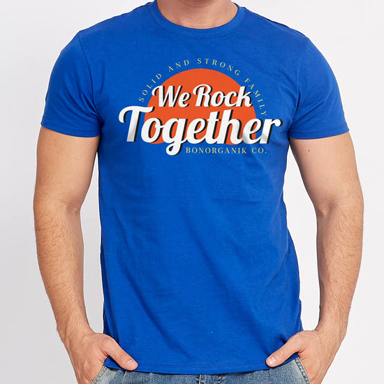 We Rock Together, Matching Dad/Mom/Daughter Family Tees