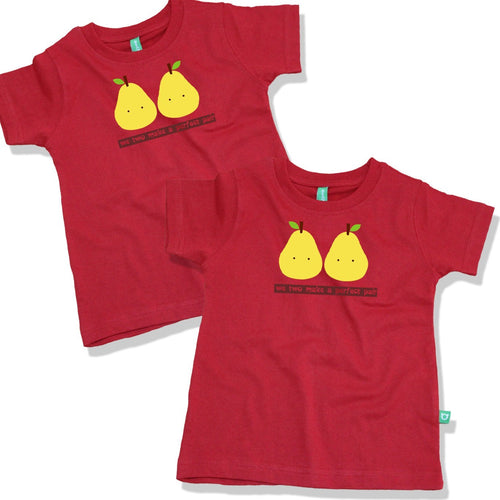 We Two Make A Perfect Pair Combo Tee For Twins