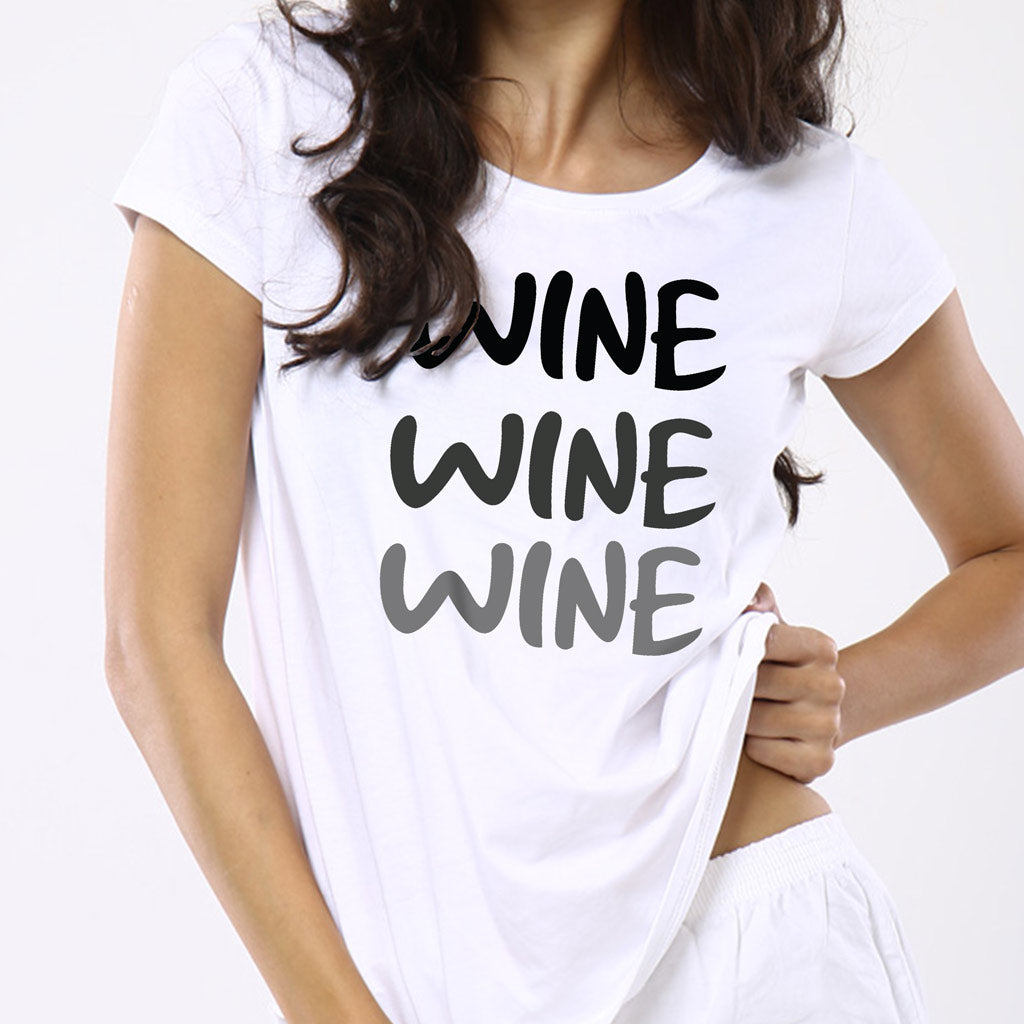 e3f99d7afa Wine And Whine, Matching Tee And Babysuit For Mom And Baby (Boy)