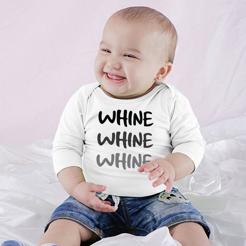 Wine And Whine, Matching Tee And Babysuit For Mom And Baby (Boy)