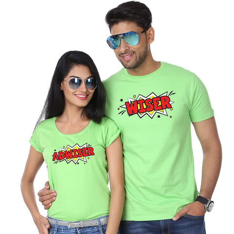 Adwiser couple Tees