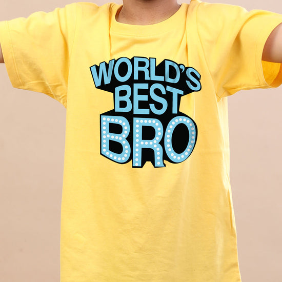 World's Best Bro/Sis, Matching Tees For Brother And Sister