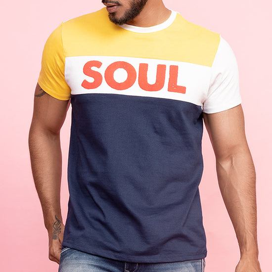 Soul Mate (Yellow) Matching Tee And Dress For Couples