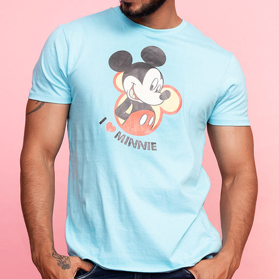 I Love Minnie Matching Disney Tee And Dress For Couples