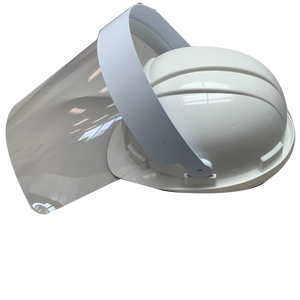 Hard Hat Splatter Visor - (Hat Not Included)