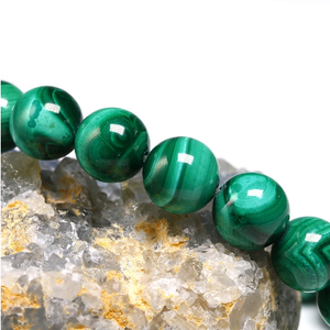 Feng Shui Malachite Green Eye Bracelet