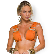 Load image into Gallery viewer, RAIOS BIKINI TOP ORANGE  比基尼 上身 -BQ 9816 SU-LRN
