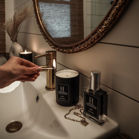 Light a Hotel Collection Candle to Make Your Home Smell Like Your Vacation