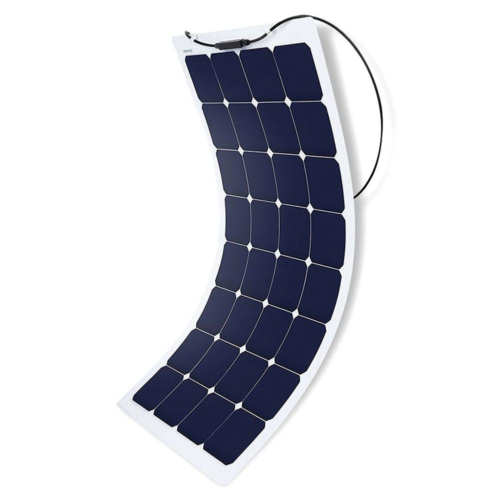 110 Watt 12 Volt Flexible Monocrystalline Solar Panel