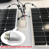 220 Watt Solar Flexible Kit w/ 30A MPPT Charge Controller (2x110W)