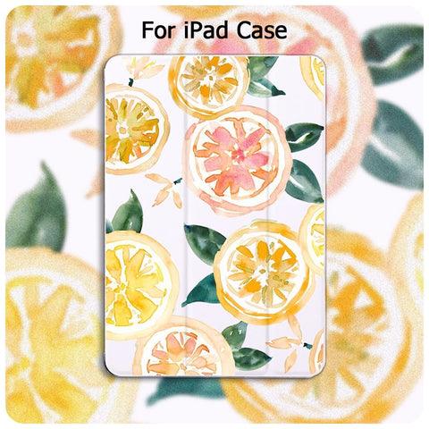 Image of iPad Fruit Printing Case 2020