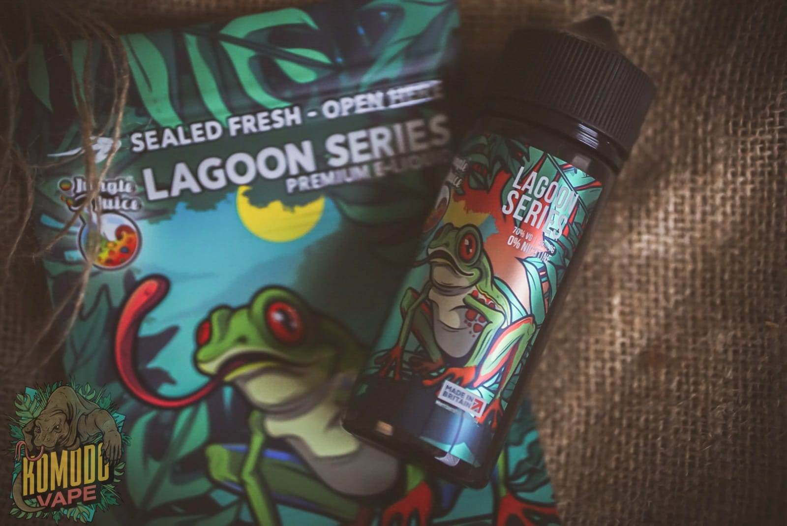 ECigClick - Jungle Juice Lagoon Series Review