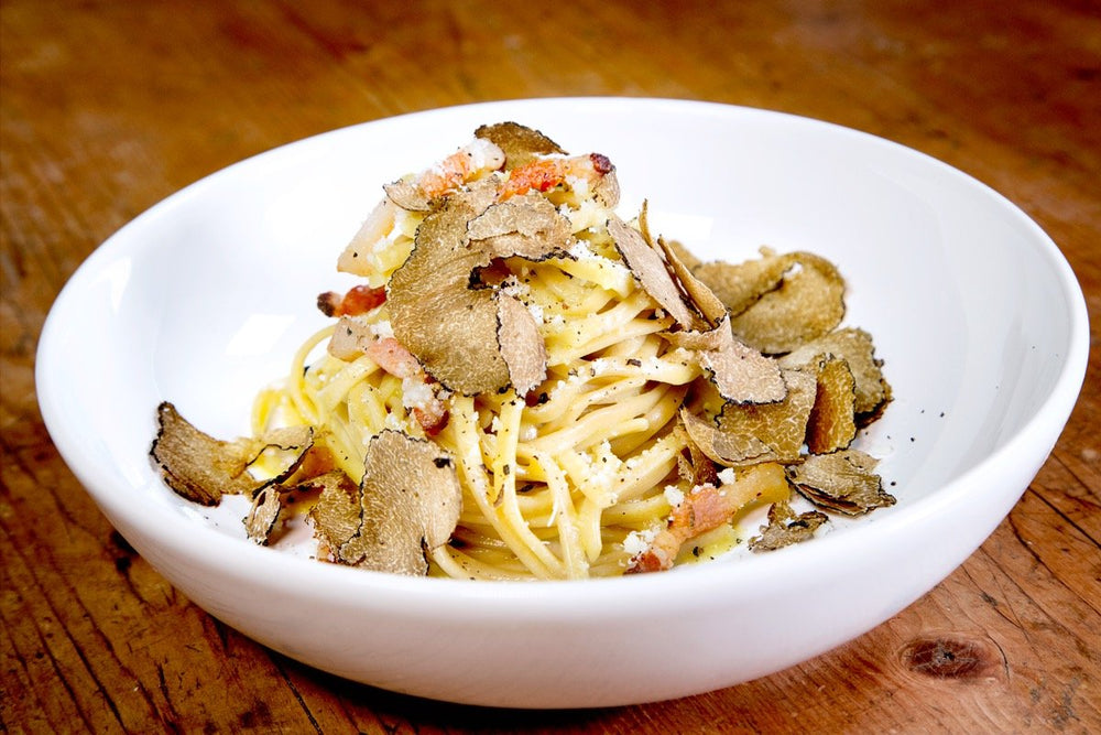Load image into Gallery viewer, TRUFFLE carbonara pasta