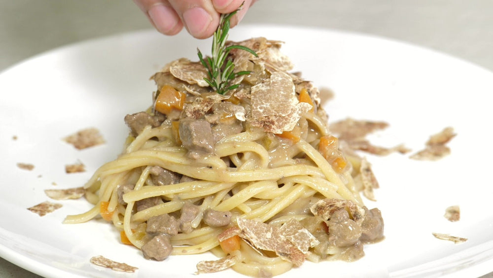 Load image into Gallery viewer, TRUFFLE FETTUCCINE
