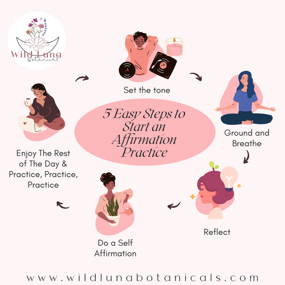 5 Easy Steps to Starting an Affirmation Practice