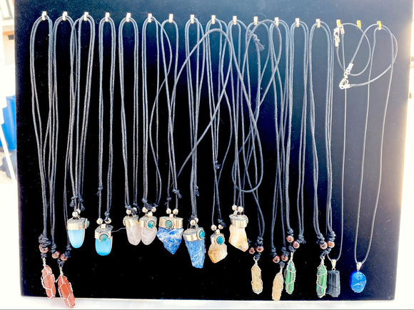 Crystal Stone Necklaces