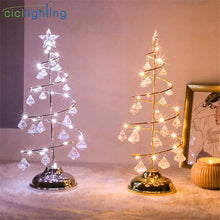 Load image into Gallery viewer, led christmas String light ,bedroom christmas decoration table lamp, decor night light