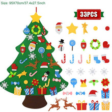 Load image into Gallery viewer, kids Christmas Tree Christmas Decoration for Home Navidad 2021 New Year Gifts