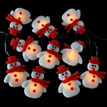 Load image into Gallery viewer, LED Snowman Christmas Tree LED Light String Garland Christmas Decorations For Home New Year