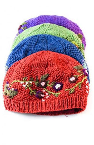 Cotton Embroidered Hat