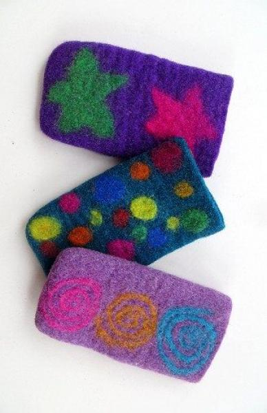 Felted Eyeglass Cover - Large