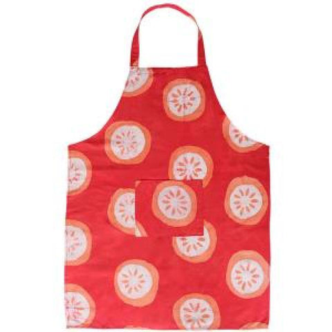 Citrus Papaya Reversible Apron