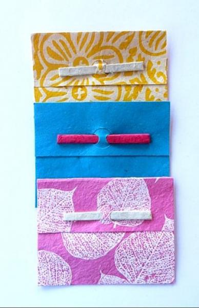 Small Gift Envelope with paper closure