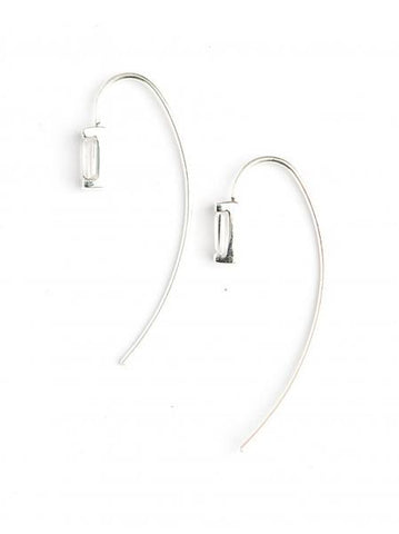 Prism Sterling Earrings - Crystal