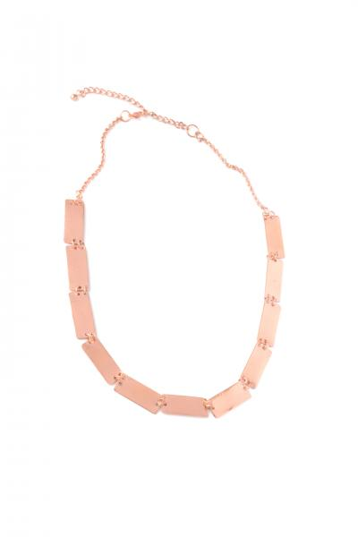 Pretty Pathways Necklace-Copper
