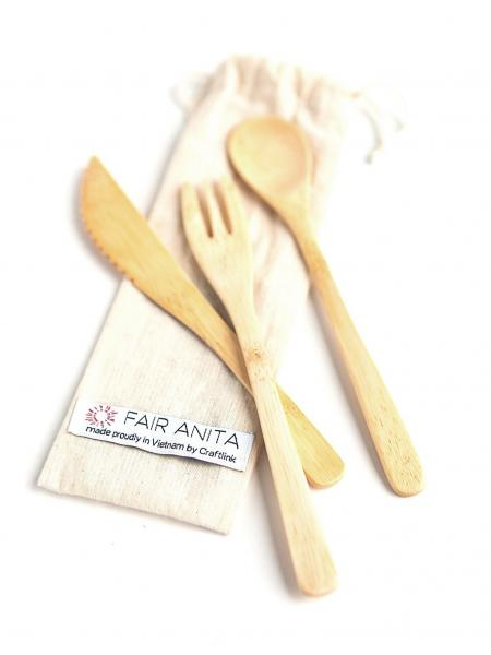 Sustainable Bamboo Utensil Set
