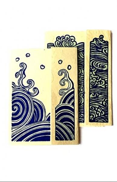 Water Series Cards - set of 8
