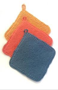Double Layer Knit Dish Cloth