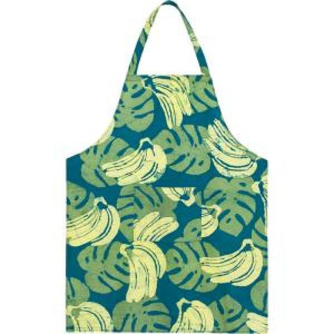 Apron Bananas Green