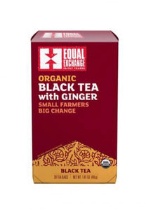 Organic Black Tea With Ginger