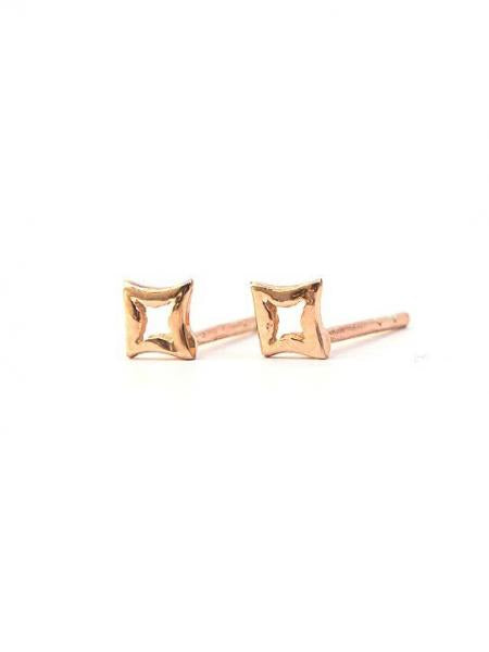 Star Studs - Rose Gold