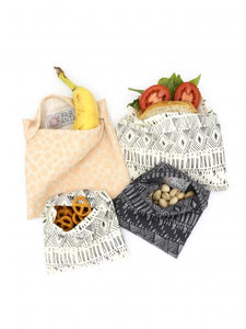 Reusable Organic Cotton Snack Bags