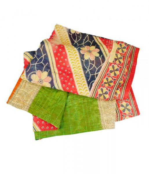 sari throw example